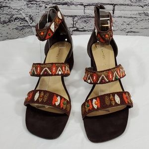 Chinese Laundry Leather Sandals
